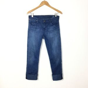 Citizens of humanity crop cuff hem jeans 27
